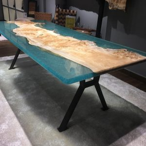 Natural Edge / Live Edge (Resin Dining Table) RDT-DM-230