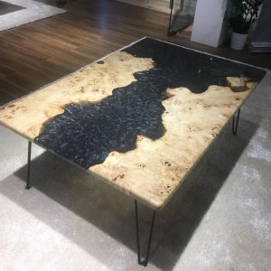 Natural Edge / Live Edge (Resin Coffee Table) RCT-CM-118