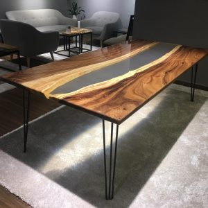Natural Edge / Live Edge (Resin Dining Table) RDT-A-230L