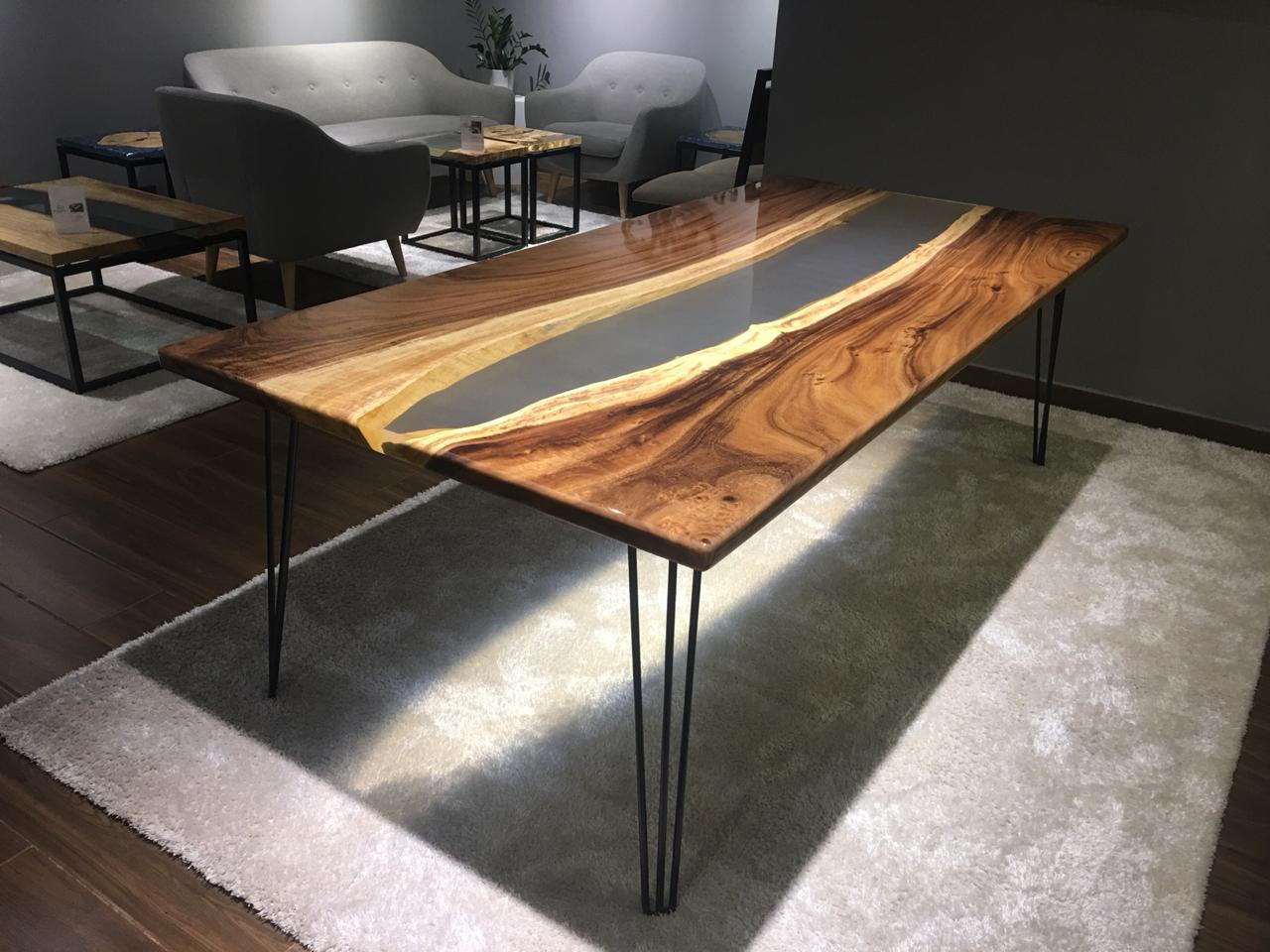 Natural Live Edge Coffee Table Rt C4 L85 Wood Studio