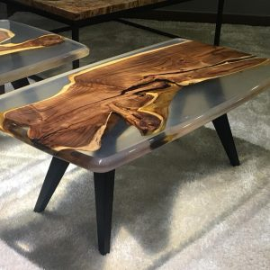 Natural Edge / Live Edge (Resin Coffee Table) RCT-G-108L