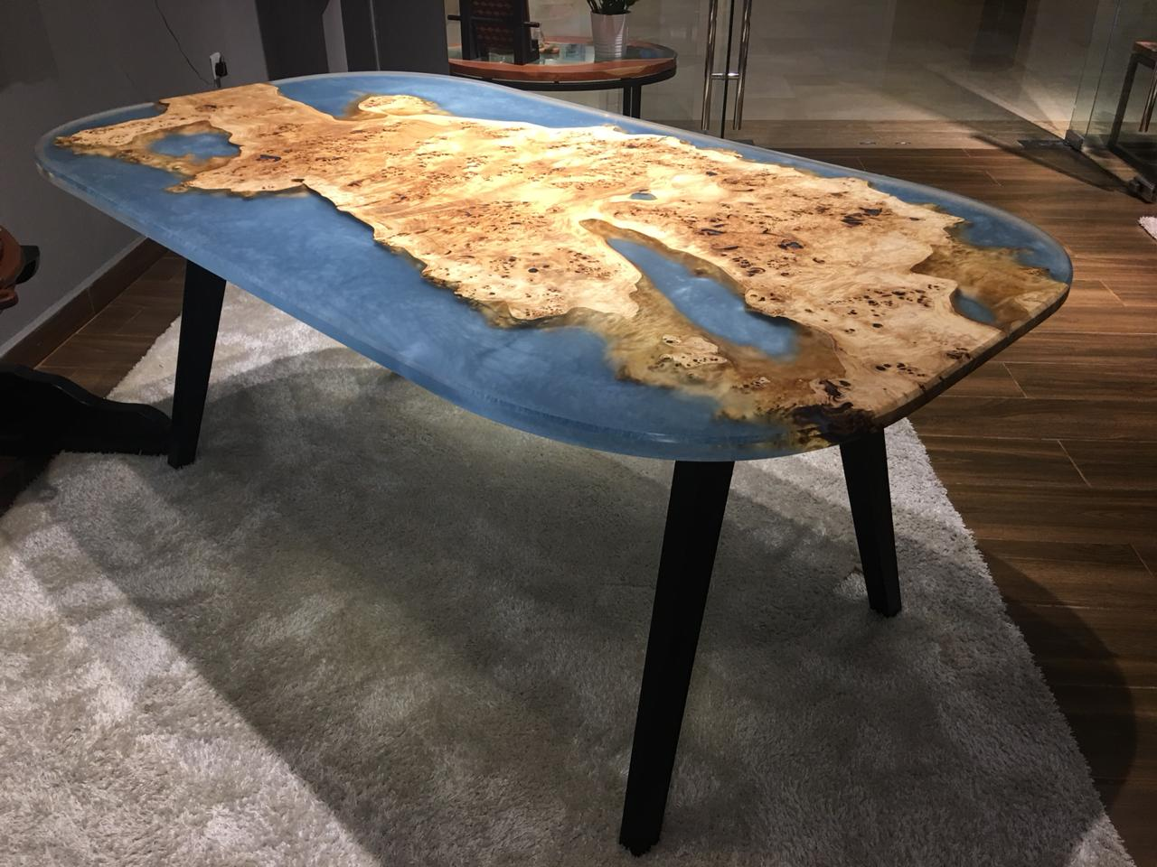 Natural Live Edge Coffee Table Rt C Os L100 Wood Studio