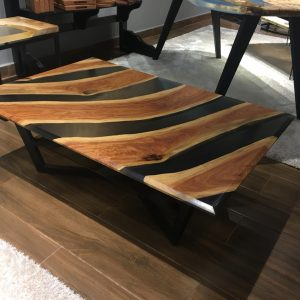Natural Edge / Live Edge (Resin Coffee Table) RT-GCT-119L
